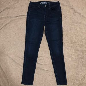 American eagle high rise jegging size 4 short